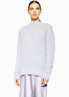 Topshop Keyhole Knitted Jumper By Boutique