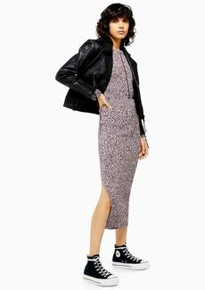 Topshop Knitted Overlock Skirt