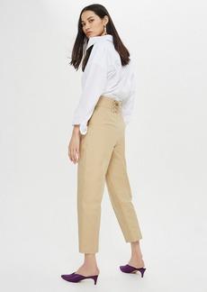 Lace Back Pants