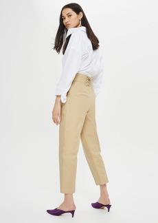 Topshop Lace Back Pants