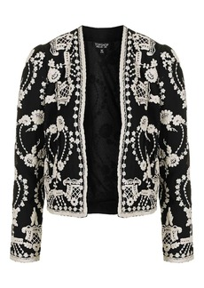Lace Embroidered Jacket