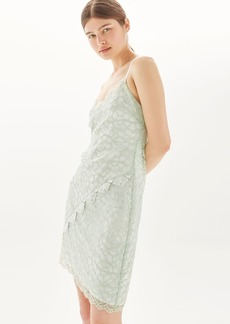 Topshop Lace Trim Dress