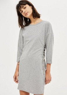 Topshop Lace Up Side Tunic Dress