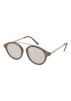 Topshop Larry Bridgeless Tortoiseshell Sunglasses