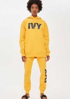 Topshop Layer Logo Hoodie By Ivy Park