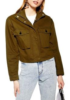 Topshop Leon Utility Jacket