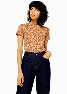 Topshop Leopard Baby T Shirt