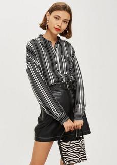Topshop Lightweight Stripe Shirt