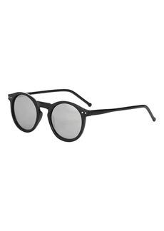 Lila Round Sunglasses