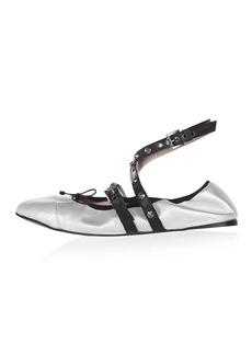 Topshop Limited Edition Primrose Ballet Pumps
