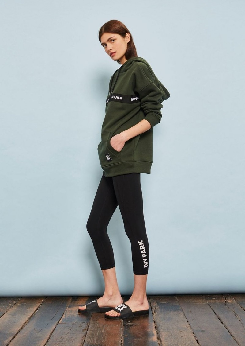 66ddc10134b82 On Sale today! Topshop Logo V Mid Rise Leggings By Ivy Park