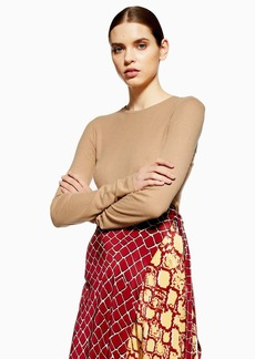 Topshop Long Sleeve Ribbed T Shirt By Boutique
