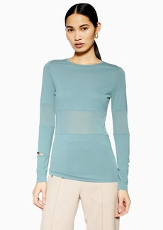 Topshop Long Sleeve Slim Fit T Shirt By Boutique