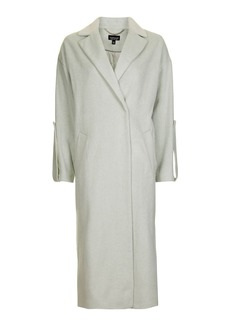 Longline Tab Slouch Coat
