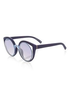 Topshop Lulu Round Sunglasses