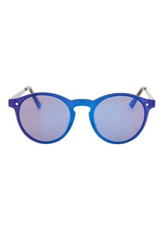 Lunar Rimless Preppy Sunglasses