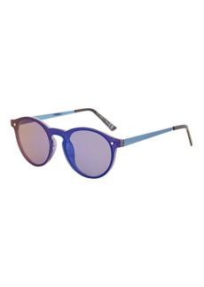 Lunar Rimless Preppy Sunglasses