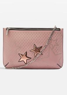 Topshop Madonna Star Stud Clutch Bag
