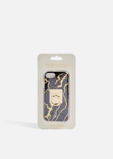 Topshop Marble Print Phone Case