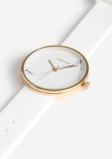 Topshop Marble Silicone Watch