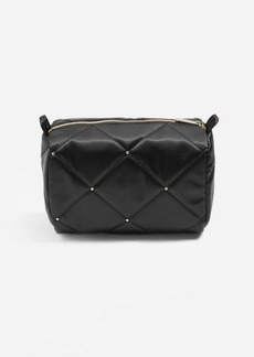 Topshop Mark Satin Stud Make Up Bag