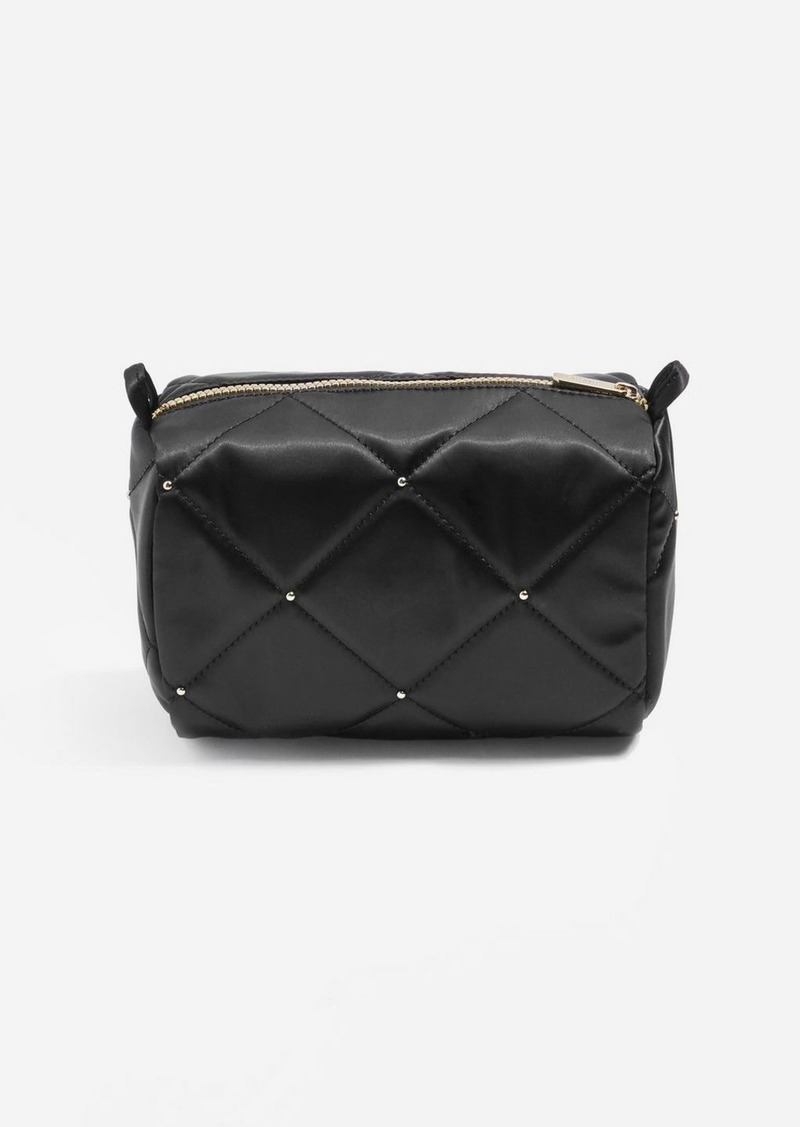 Topshop Mark Satin Stud Make Up Bag