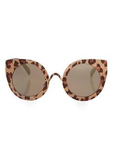 Topshop Marvis Metal Cateye Sunglasses