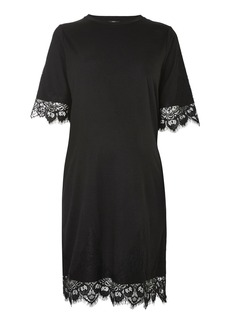Topshop Maternity Lace Petal Dress