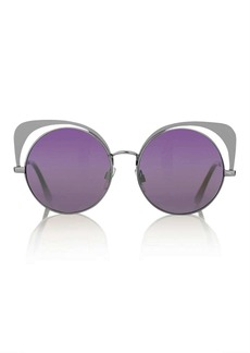 Topshop Metal Fluxe Sunglasses