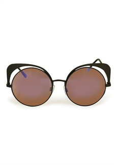 Topshop Metal Mirrored Sunglasses
