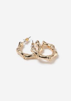Topshop Bags Accessories /Jewelry /Mini Bamboo Hoop Earrings
