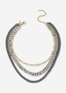 Topshop Bags Accessories /Jewelry /Mixed Metal Chain Necklace