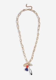 Topshop Mobile Stone Drop Necklace
