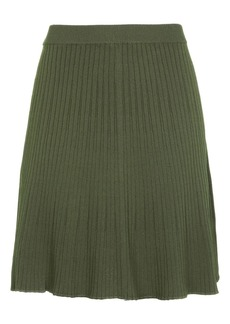 Modern Ribbed Flippy Skirt