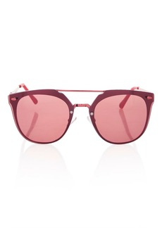 Topshop Monique Rimless Cateye Sunglasses