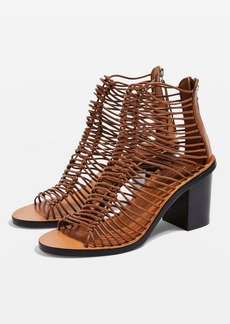 Topshop Narly Smart Heeled Sandals
