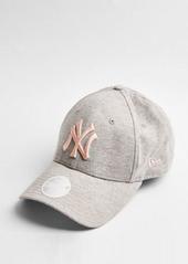 Topshop New Era 'NY' cap in gray heather