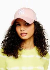 Topshop New Era 'NY' cap in pink