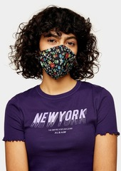 Topshop New In This Week /New In Fashion /Ditsy Floral Print Fashion Face Mask