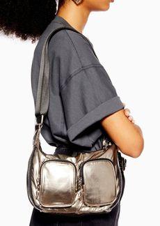 Topshop Nina Nylon Pocket Shoulder Bag