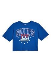 Topshop NY Giants Crop Tee