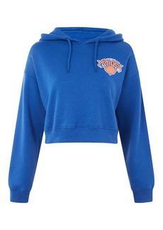 Ny Knicks Crop Hoodie By Unk X Topshop