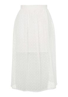 Organza Prom Midi Skirt