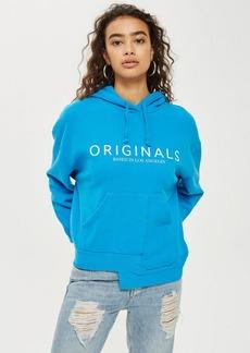 Topshop Originals Logo Hoodie