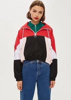 Topshop Overhead Windbreaker Jacket