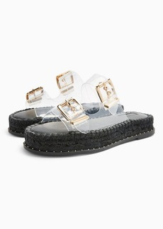 Topshop Palm Clear Espadrille Sandals
