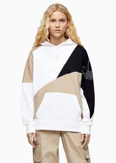 Topshop Panel Hoodie By Adidas