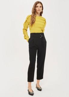 Paperwaist Peg Pants