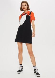 Topshop Petite Bib Pocket Pini Dress
