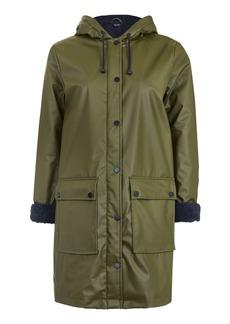 Petite Borg Linned Coat